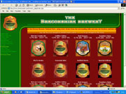 website designers for The Breconshire Brewery