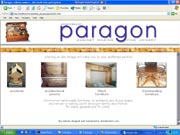 website designers for Paragon Cabinetmakers